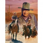 Puzzle  Master-Pieces-71239 John Wayne - The Cowboy Way