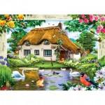 Puzzle  Master-Pieces-71404 Swan Cottage