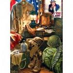 Puzzle  Master-Pieces-71510 U.S. Army Men of Honor