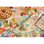 Puzzle  Master-Pieces-71669 XXL Pieces - Aimee Stewart - Pastry Party