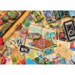 Master-Pieces-71670 Puzzle in Suitcase - Safe Travel