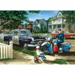Puzzle  Master-Pieces-71738 Neighborhood Patrol