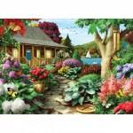 Puzzle  Master-Pieces-71810 Dragonfly Garden