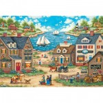 Puzzle  Master-Pieces-71828 XXL Pieces - Mr. Wiggins Whirligigs