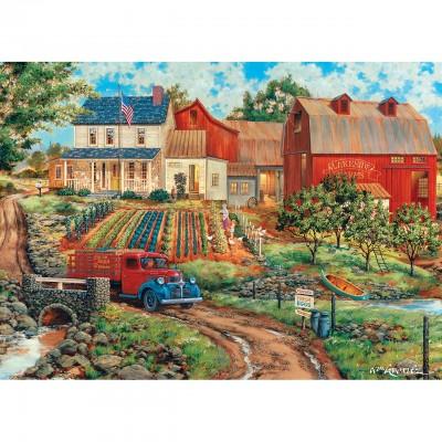 Puzzle Master-Pieces-71921 Grandma's Garden