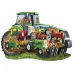 Puzzle  Master-Pieces-71958 Tractor