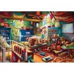 Puzzle  Master-Pieces-71962 XXL Pieces - Attic Treasures