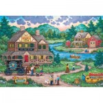 Puzzle  Master-Pieces-71968 Adirondack Anglers