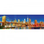 Puzzle  Master-Pieces-71979 City Panoramics - Brooklyn Bridge