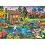 Puzzle  Master-Pieces-71984 Stoney Brook Retreat