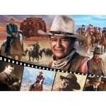 Puzzle  Master-Pieces-72025 John Wayne - The Legend of the Silver Screen