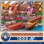 Puzzle  Master-Pieces-72031 Lionel Train Edition - Shopping Spree