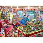 Puzzle  Master-Pieces-72032 Lionel Train Edition