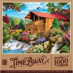 Puzzle  Master-Pieces-72041 Cascading Cabin