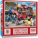 Puzzle  Master-Pieces-72129 Hometown Heroes - Parade Day