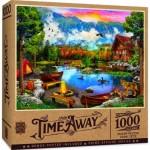 Puzzle  Master-Pieces-72130 Sunset Canoe