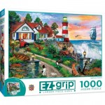 Puzzle  Master-Pieces-72132 XXL Pieces - Lighthouse Keepers