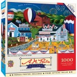 Puzzle  Master-Pieces-72169 Stars and Stripes