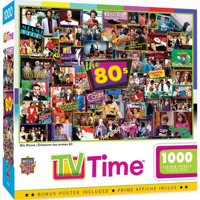 80's Shows Puzzle 1000 pieces