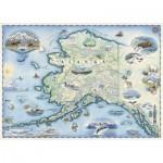 Puzzle   Alaska Map