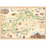 Puzzle   Badlands Map