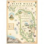 Puzzle   Black Hills Map