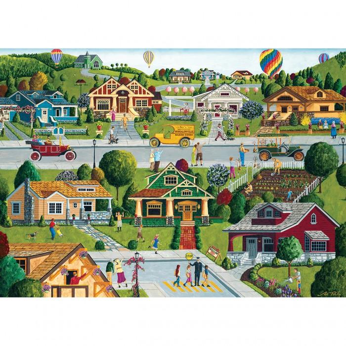 Bungalowville Puzzle 1000 pieces