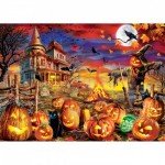 Puzzle   Glow in the Dark - All Hallow's Eve