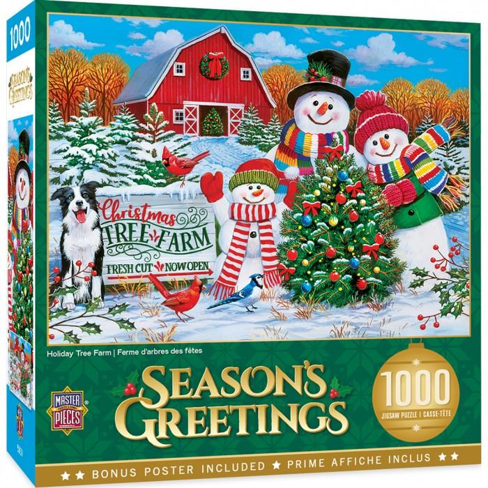 Holiday Tree Farm Puzzle 1000 pieces