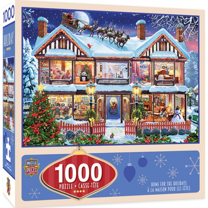 Home for the Holidays Puzzle 1000 pieces