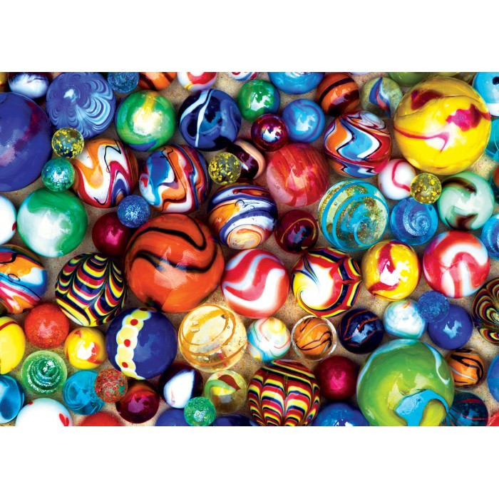 Mini Pieces - World's Smallest - All My Marbles Puzzle 1000 pieces