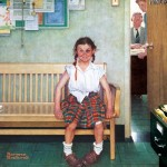 Puzzle   Norman Rockwell - The Shiner