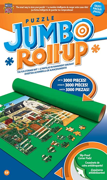 Puzzle Mat - Jumbo Puzzle Roll-Up in a Box : Up to 3000 pieces