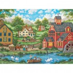 Puzzle   Swan Pond