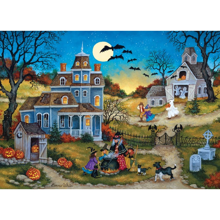 Three Little Witches Puzzle 1000 pieces