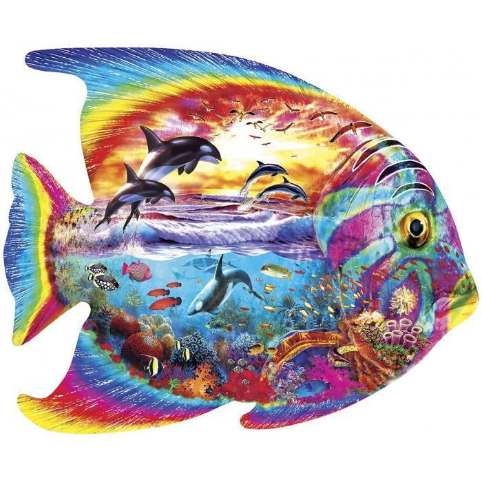Tropical Fish Puzzle 1000 pieces
