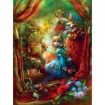 Puzzle   XXL Pieces - Book Box - Alice at the Chessboard