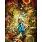 Puzzle   XXL Pieces - Book Box - Down the Rabbit Hole