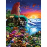 Puzzle   XXL Pieces - Book Box - Little Mermaid