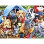 Puzzle   XXL Pieces - Camping Buddies