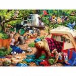 Puzzle   XXL Pieces - Campsite Trouble