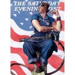 Puzzle   Norman Rockwell - Rosie the Riveter