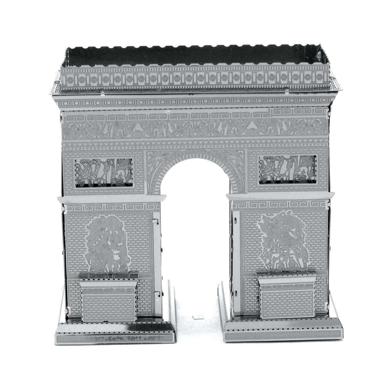 3d jigsaw puzzle arc de triomphe metal earth mms023 30 pieces jigsaw puzzles monuments. Black Bedroom Furniture Sets. Home Design Ideas