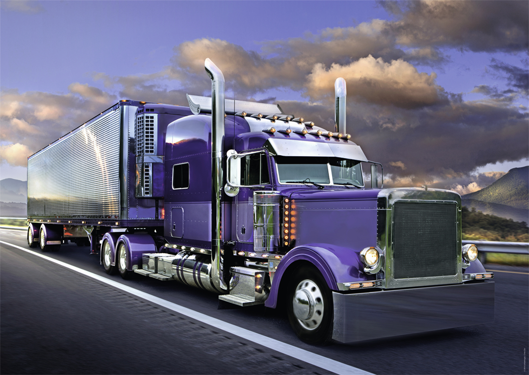 Semi Truck Accessories >> Puzzle American Truck Nathan-87782 1500 pieces Jigsaw Puzzles - Cars, Motorcycles and Trucks ...