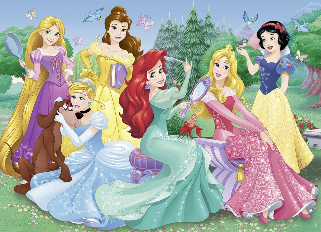 Puzzle Disney Princess Nathan 86537 45 Pieces Jigsaw