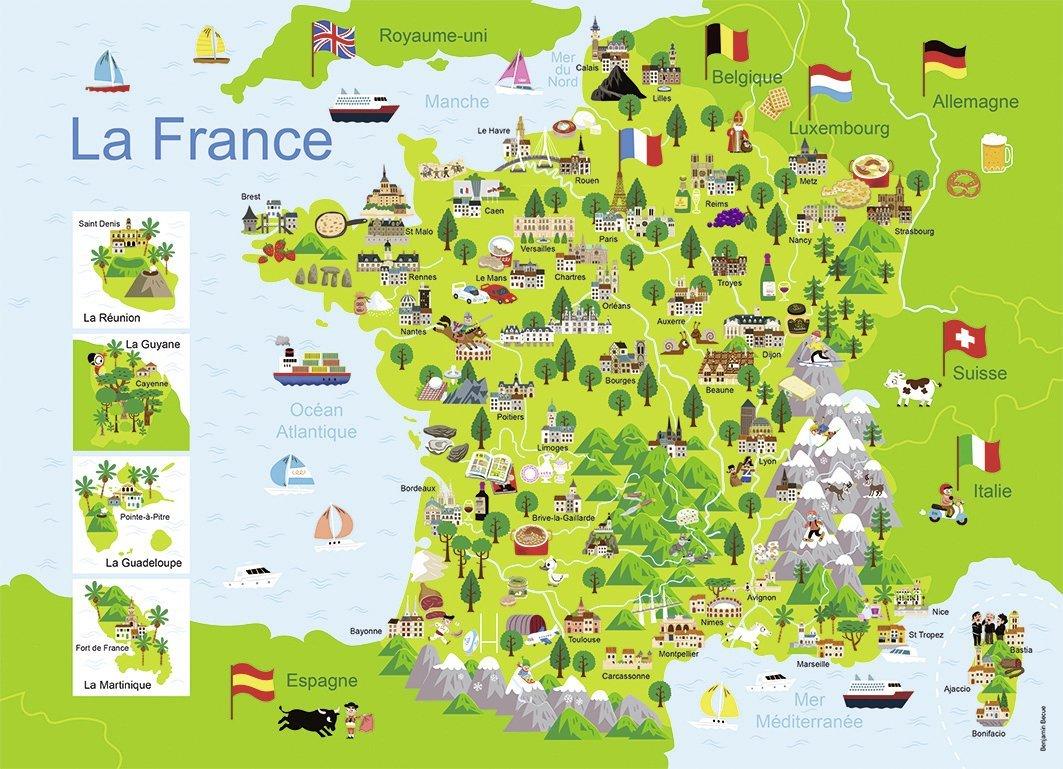 Placer Ville De France Jeu
