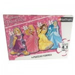 4 Puzzles - Disney Princess
