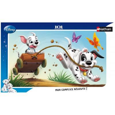Nathan-86005 Jigsaw Puzzle - 15 Pieces - 101 Dalmatians : Crazy Race