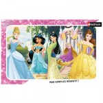 Nathan-86009 Frame Puzzle - Disney Princess
