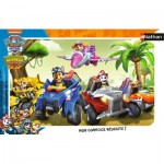 Nathan-86017 Jigsaw Puzzle - 15 Pieces - Noddy and Tessie Bear under the Umbrella